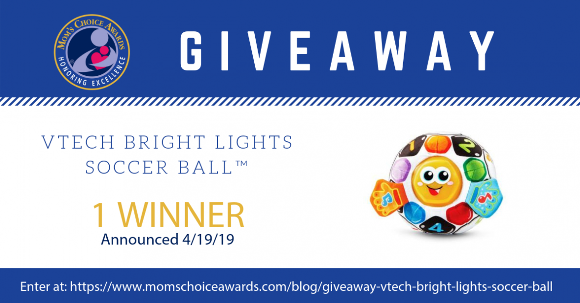 GIVEAWAY VTech Bright Lights Soccer Ball