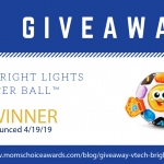 GIVEAWAY: VTech Bright Lights Soccer Ball™