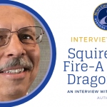 Interview with Joseph Cassis, Author of Squire With Fire- A Happy Dragon Tale