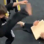 Boy Won't Give Up on Breaking Board in Class and Teaches Us All About Resilience