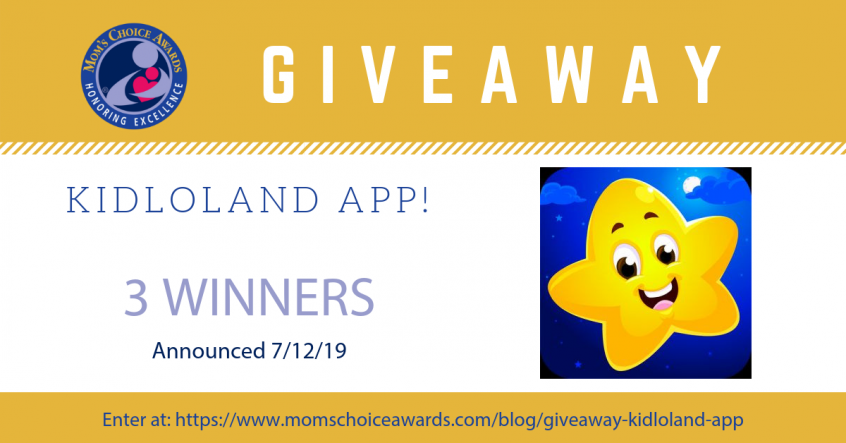 GIVEAWAY: KidloLand App (FREE 3-month subscription) - Mom's