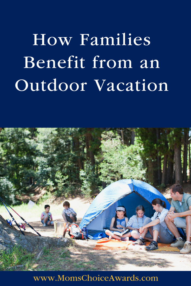 outdoor family vacation