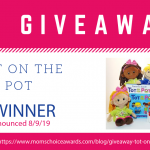 GIVEAWAY: Tot on the Pot