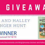 GIVEAWAY: Boomer and Halley Scavenger Hunt Book