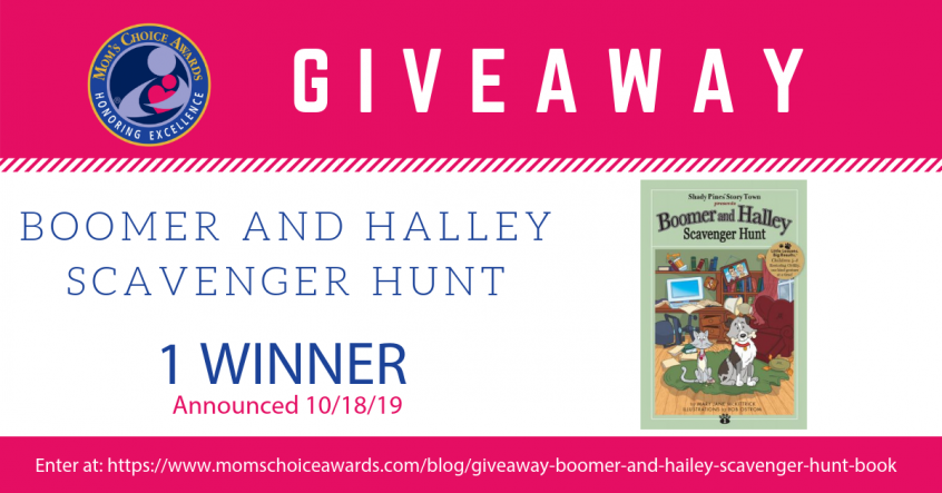 Giveaway Boomer and Halley