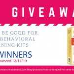 Giveaway: How To Be Good For Santa Behavioral Learning Kits