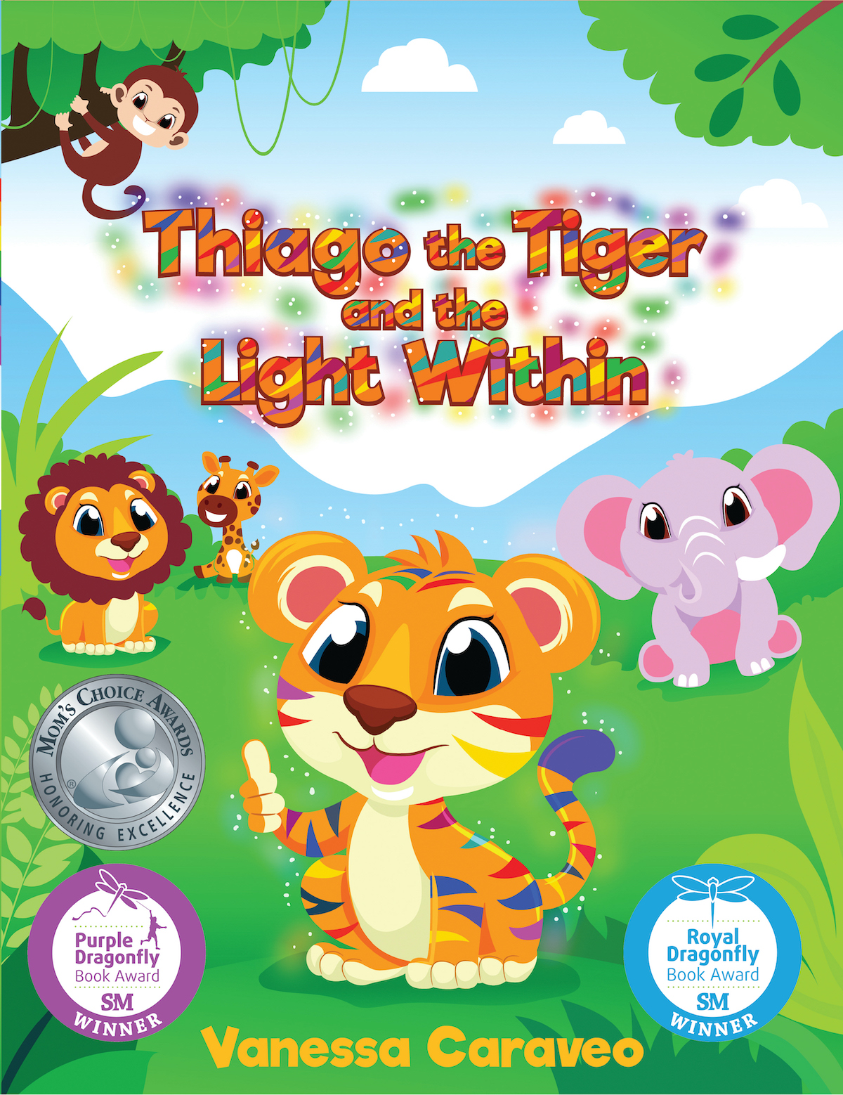 Award-Winning Children's book — Thiago the Tiger and the Light Within