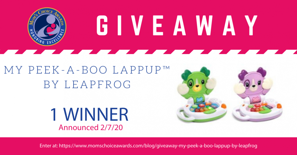 Giveaway My Peek-a-Boo LapPup by LeapFrog