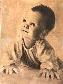 M. C. Abushar's first art work