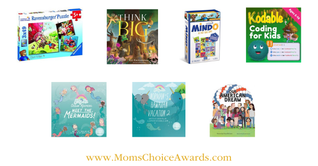 award-winning games puzzles books