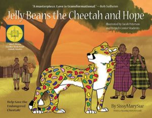 Jelly Beans the Cheetah and Hope covid free