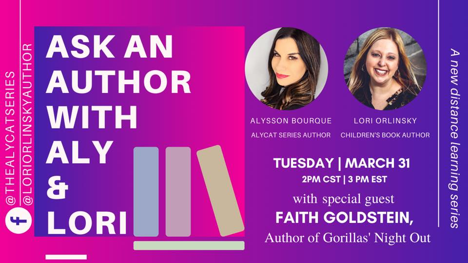 As An Author With Aly & Lori covid free