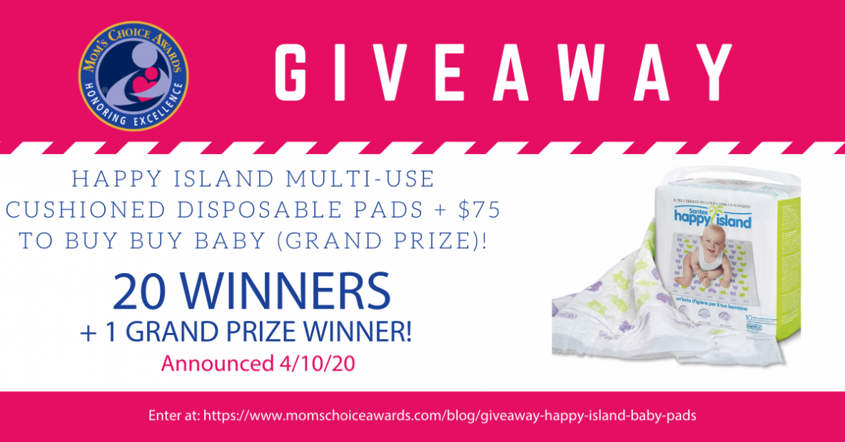 Happy Island Multi-Use Cushioned Disposable Pads + $75 to Buy Buy Baby