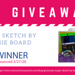 Giveaway: Magic Sketch by Boogie Board