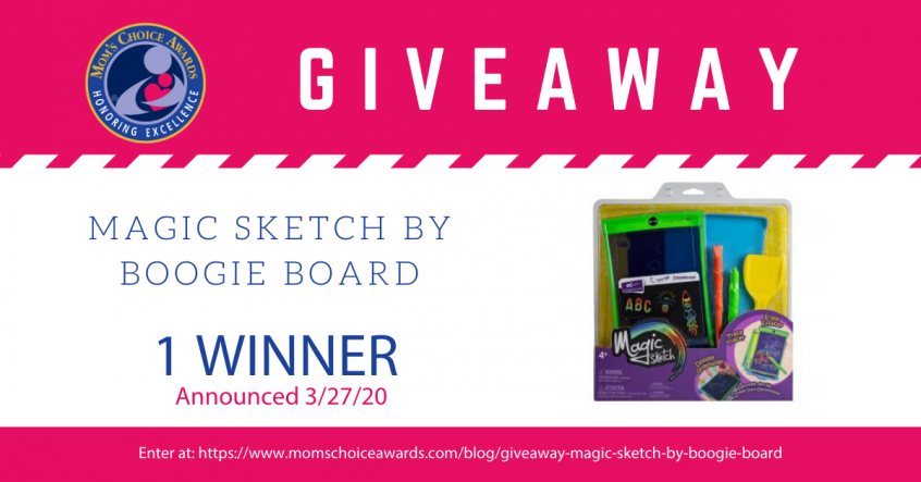 Giveaway Magic Sketch by Boogie Board