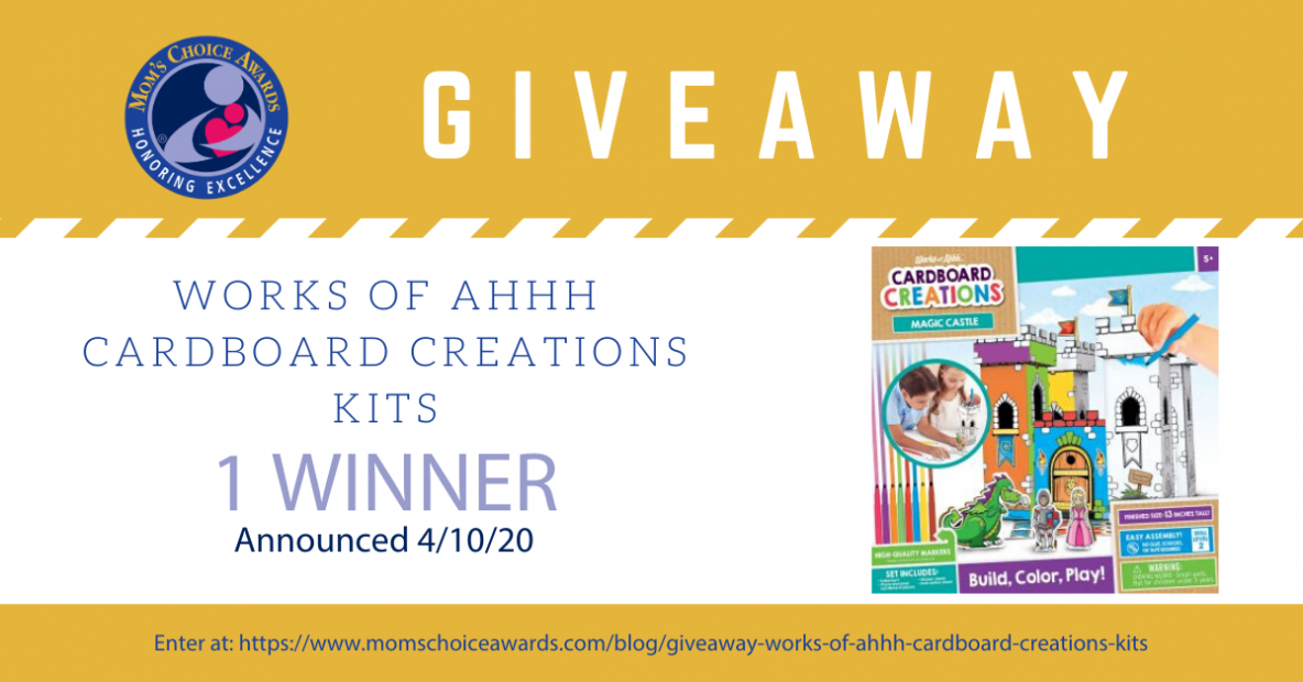Giveaway Works of Ahhh Cardboard Creations Kits