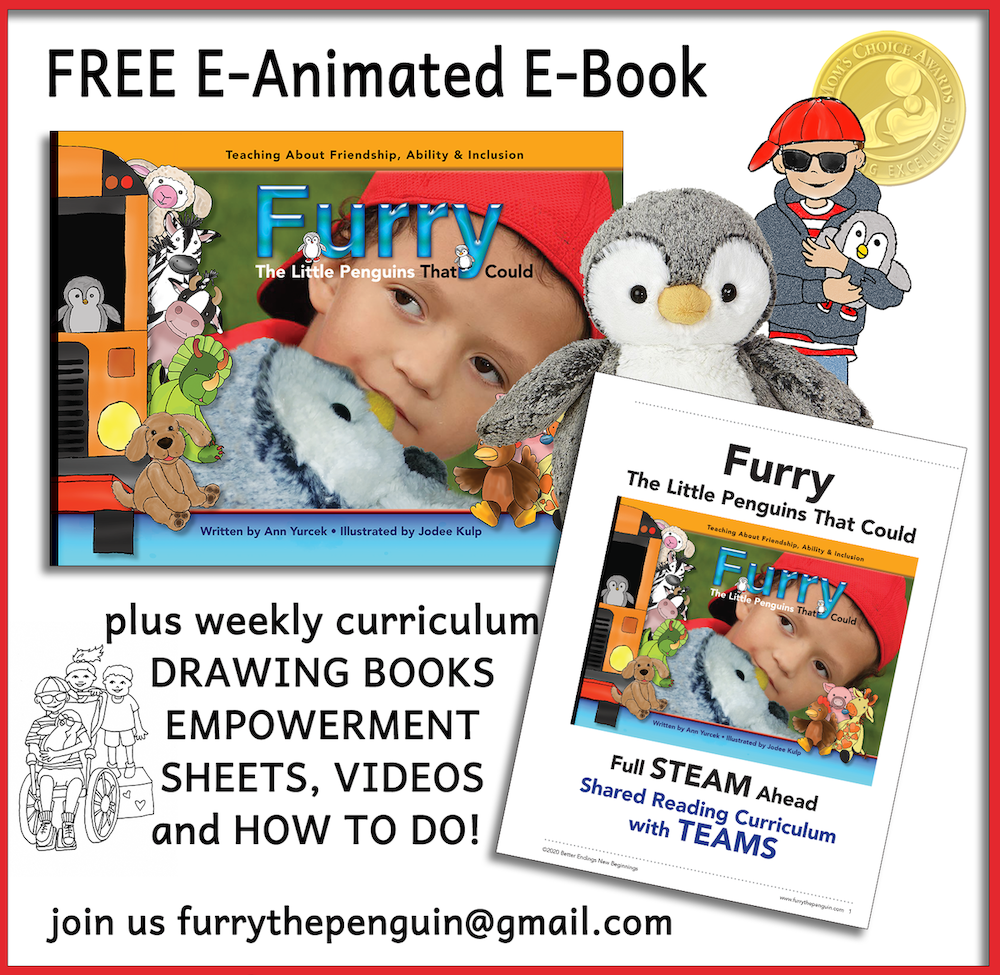 Furry The Penguin e-book covid free