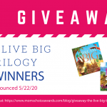 Giveaway: The Live Big Trilogy
