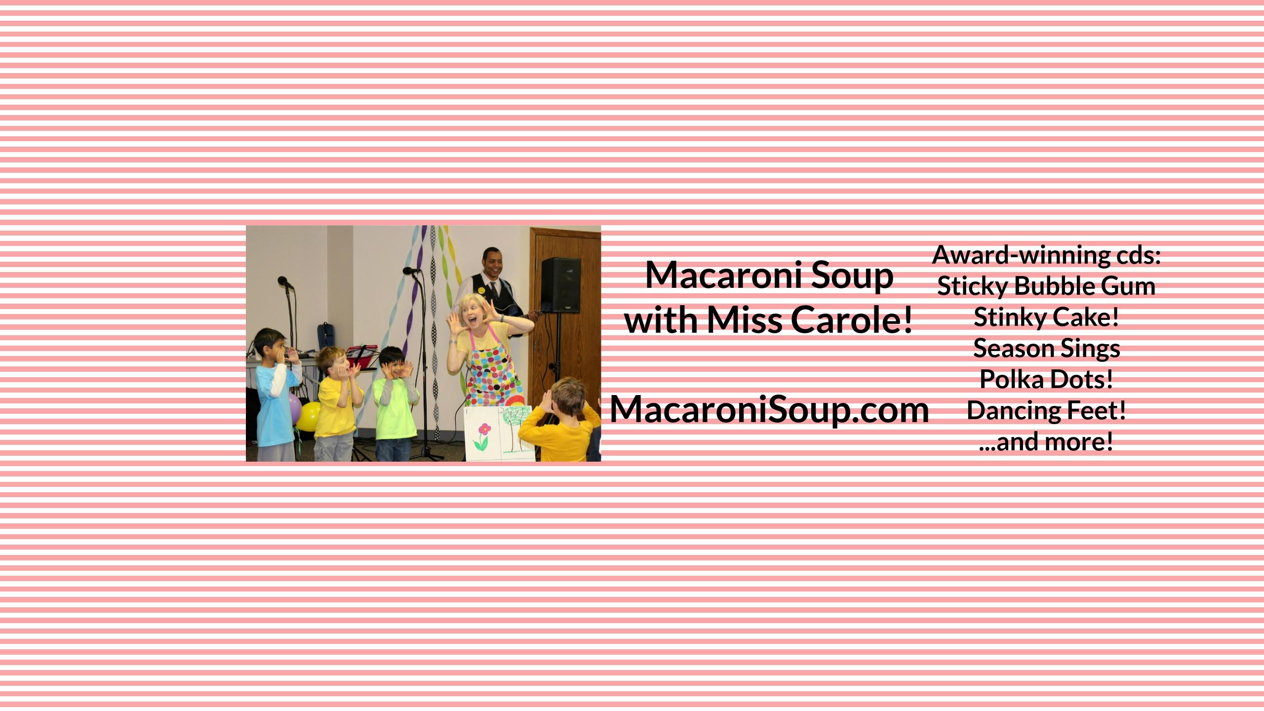 Macaroni Soup covid free