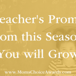 A Teacher's Promise: From this Season, You will Grow