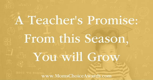 A Teacher's Promise From this Season You will Grow