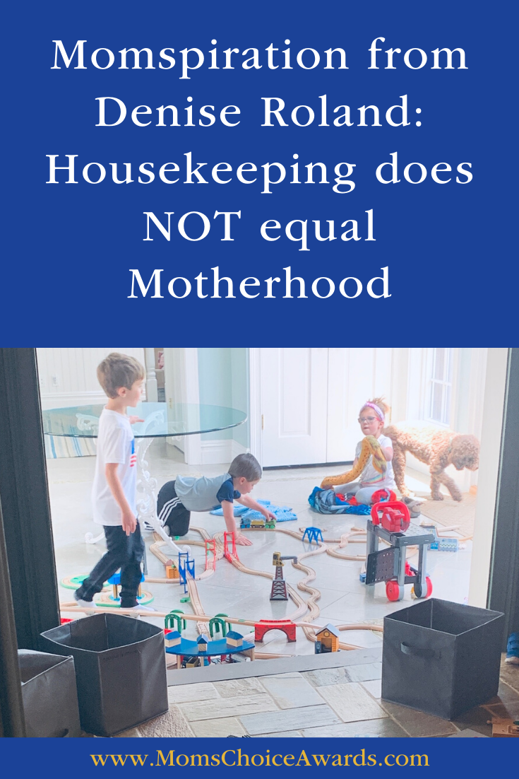 momspiration housekeeping not motherhood