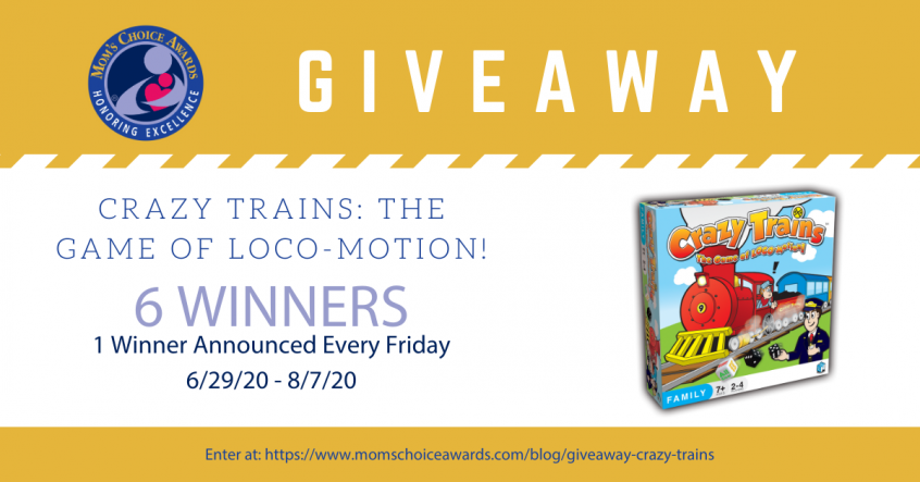 Giveaway: Crazy Trains The Game of Loco-Motion!