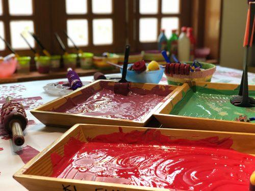 Art Supplies Pre-school Seneca Village Montessori