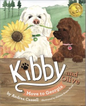 """""""Kibby and Olive Move to Georgia"""" Cover Art"""