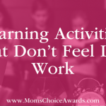Learning Activities That Don't Feel Like Work