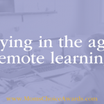 Bullying in the Age of Remote Learning