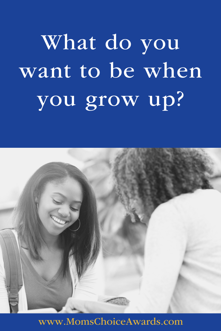What do you want to be when you grow up? Pinterest Image