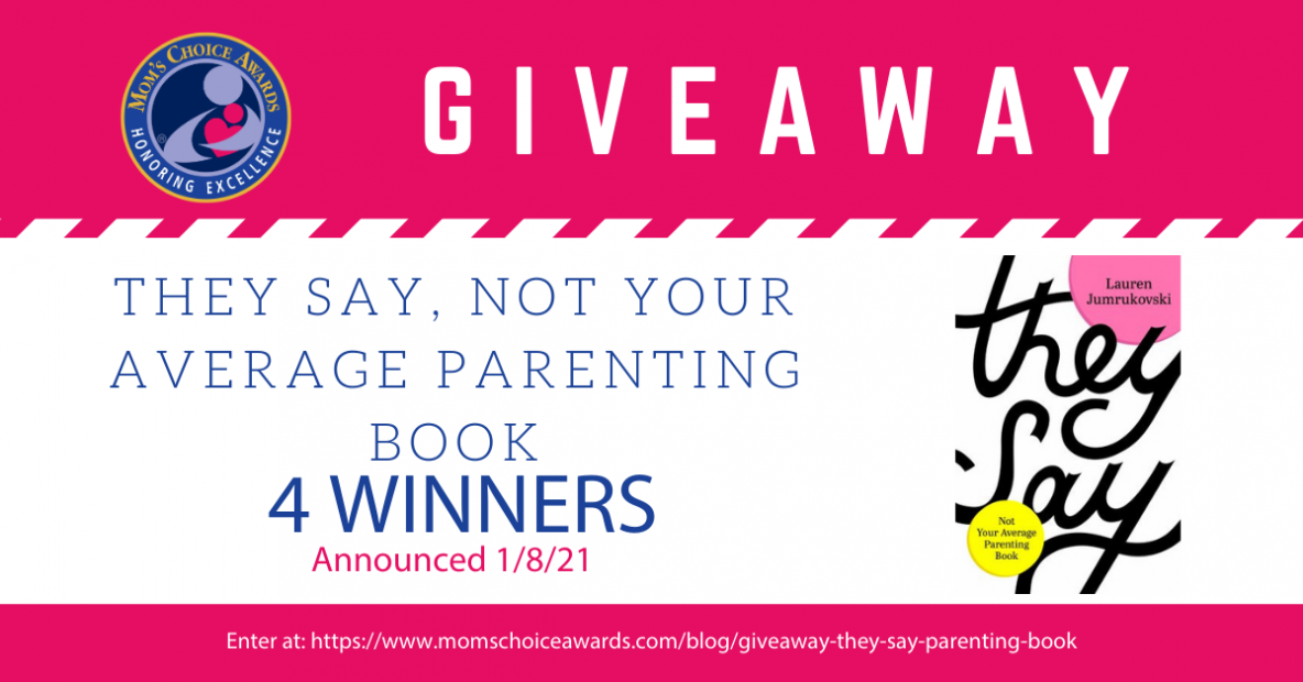 Giveaway: They Say, Not Your Average Parenting Book