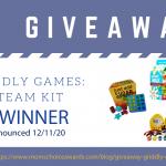 Giveaway: Griddly Games STEAM Kit