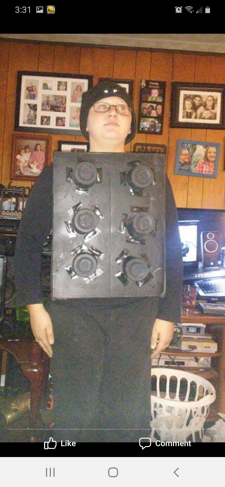 Lego Boy Costume