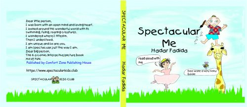 """Spectacular Me"" Front and Back Cover"
