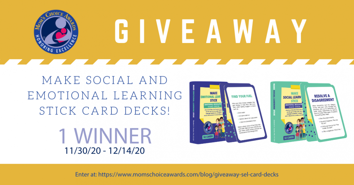Giveaway: Make Social and Emotional Learning Stick Card Decks!