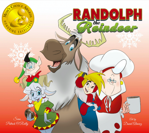 Randolph the Reindeer Cover Art