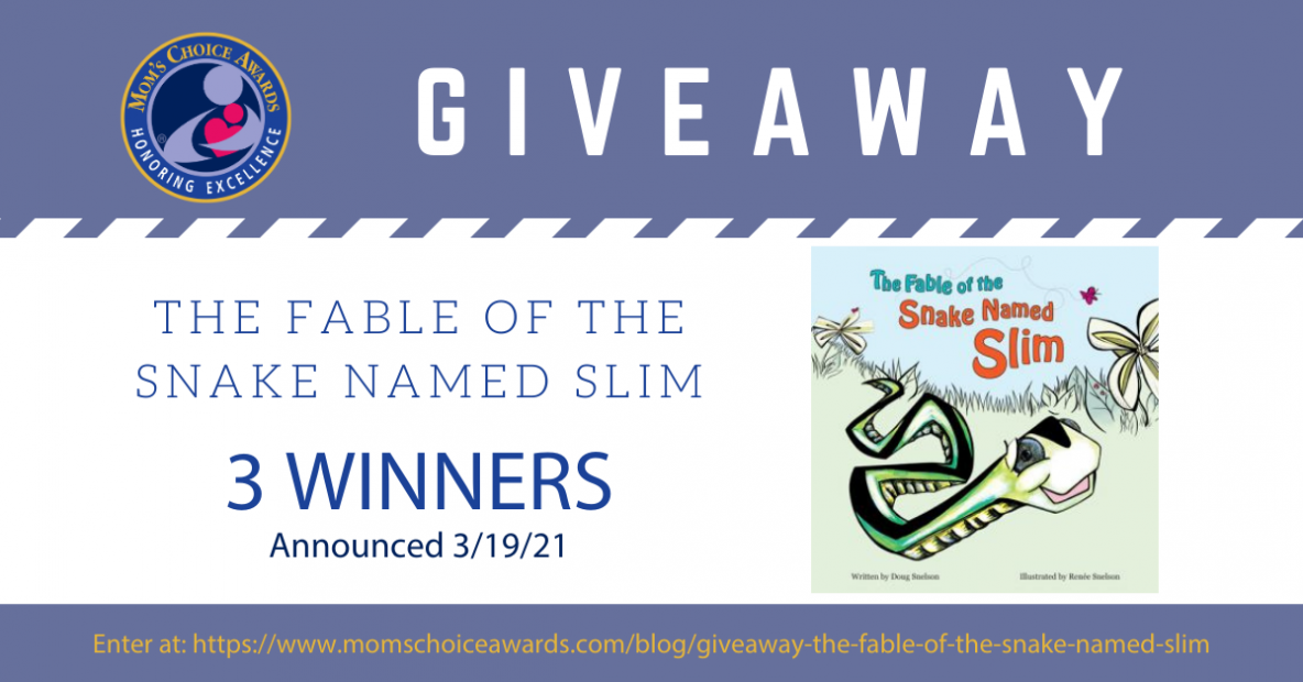 Giveaway: The Fable of the Snake Named Slim Book
