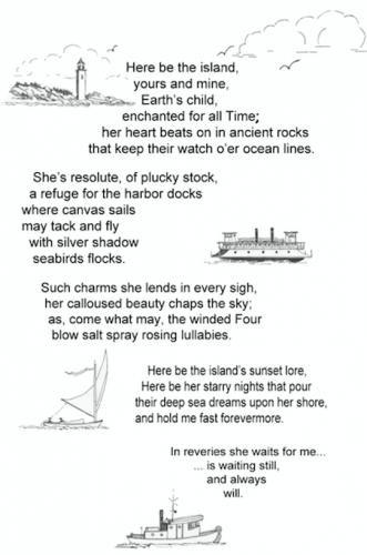 """Island Poem."""