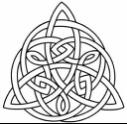 """""""The Trinity Knot."""""""