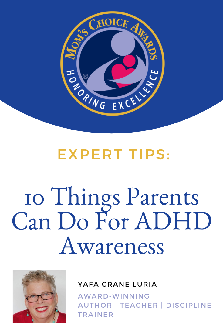 10 Things Parents Can Do For ADHD Awareness