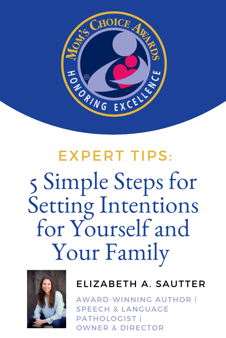 5 Simple Steps for Setting Intentions for Yourself and Your Family Pinterest Image