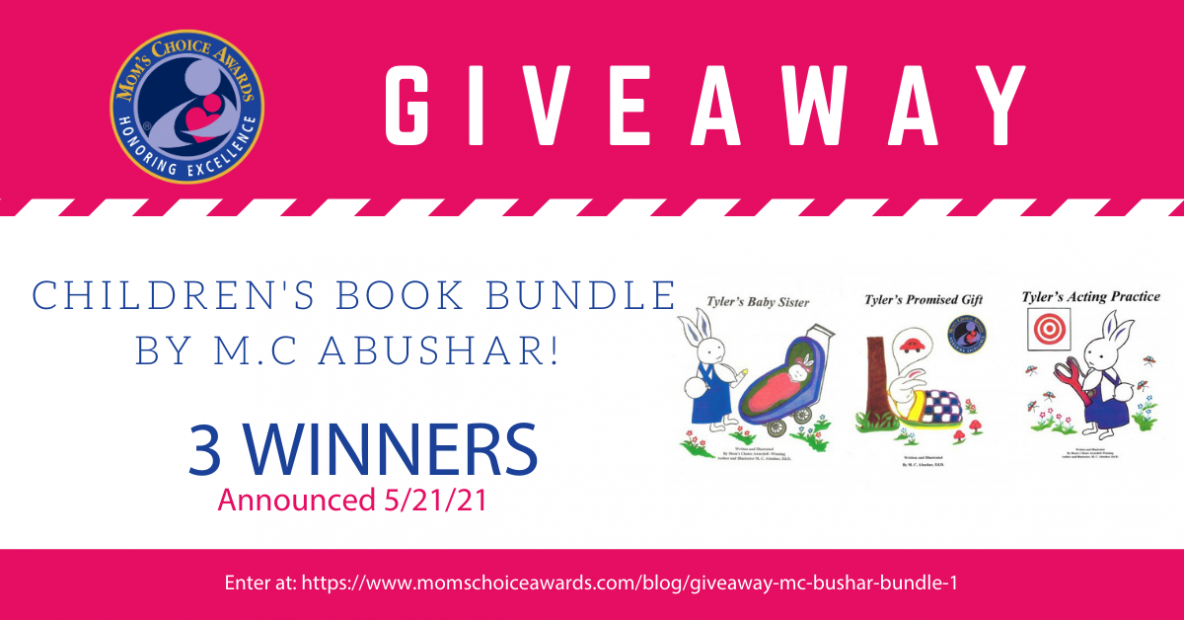 Giveaway Children's Book Bundle by M.C Abushar!