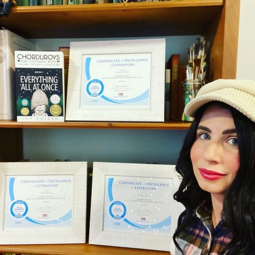 Ivy with Royal Dragonfly Book Awards,