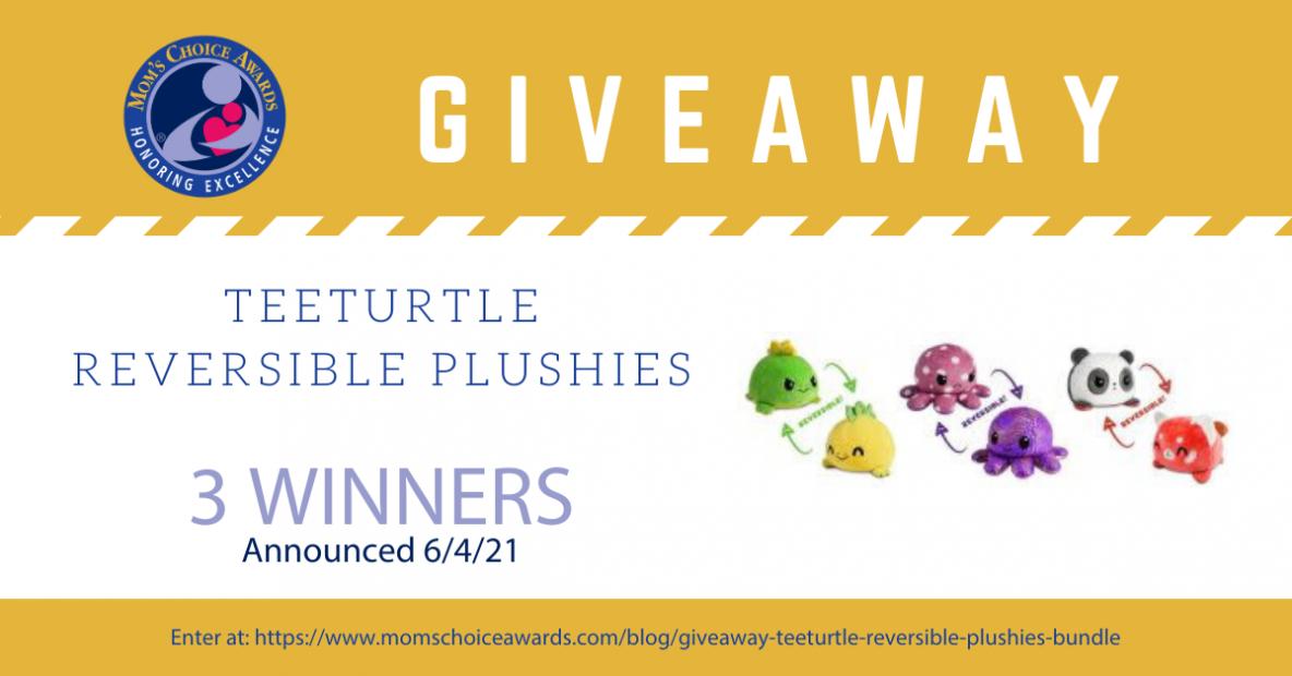Giveaway Tee Turtle Reversible Plushie Bundle