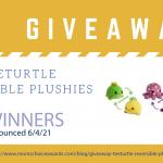 Giveaway: Tee Turtle Reversible Plushie Bundle!