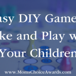 5 Easy DIY Games to Make and Play with Your Children