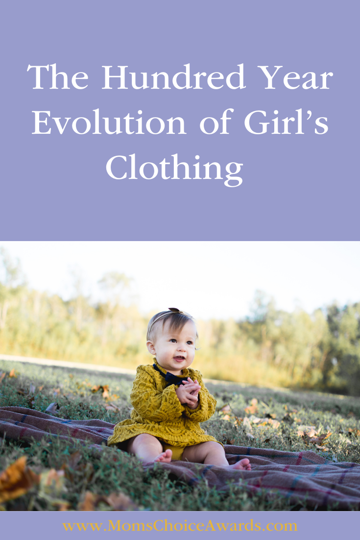 The Hundred Year Evolution of Girl's Clothing