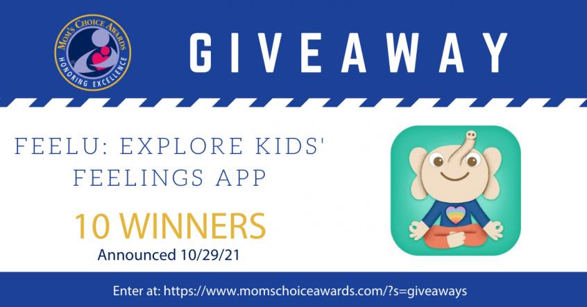 Giveaway: Feelu Explore Kids' Feelings App